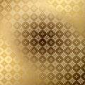 Golden ornamental background with gradient eps seamless if delete Royalty Free Stock Photos