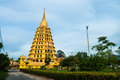 Golden Pagoda Royalty Free Stock Photography