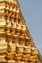 Golden Pagoda Detail Stock Image