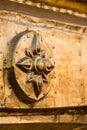Golden pagoda detail, Bagan, Myanmar Royalty Free Stock Photo