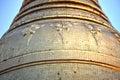 Golden pagoda – elements of shwedagon paya in yangon myanmar Stock Photography