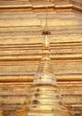 Golden pagoda – elements of shwedagon paya in yangon myanmar Royalty Free Stock Photos