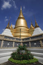 Golden pagoda in the Grand palace area Royalty Free Stock Photography