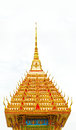 Golden Pagoda in a temple Royalty Free Stock Image