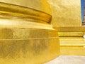 Golden pagoda , Thailand. Royalty Free Stock Photo