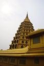 Golden Pagoda at Wat Tha-it , Angthong Thailand