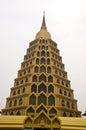 Golden Pagoda at Wat Tha-it , Angthong , Thailand