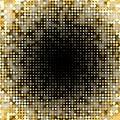Golden paillettes shiny background