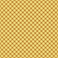 Golden pattern seamless vector illustration Royalty Free Stock Images