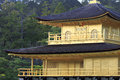 Golden Pavillion close up Royalty Free Stock Photos