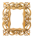 Golden Picture Frame. Vintage ...