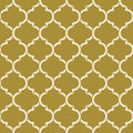 Golden Quatrefoil Pattern