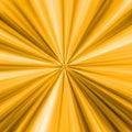 Golden Rays Stock Image