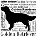 Golden Retriever Silhouette Vector