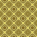 Golden retro background texture seamless tilable Royalty Free Stock Photography