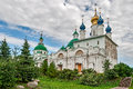 The golden ring of russia a monastery spaso yakovlevsky dimitriev founded in city rostov veliky Stock Photo