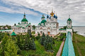 The golden ring of russia a monastery spaso yakovlevsky dimitriev founded in city rostov veliky Royalty Free Stock Image
