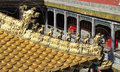 Golden roof putuo zongcheng temple chengde the of the little potala palace in in china Royalty Free Stock Photo