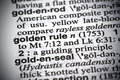 Golden Rule Royalty Free Stock Photo