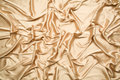Golden satin random pattern Stock Photo