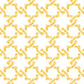 Golden seamless weave pattern vector illustration eps Royalty Free Stock Image