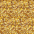 Golden sequins seamless background with vector illustration Royalty Free Stock Photo
