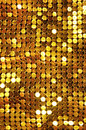 Golden Shining Mesh Stock Image