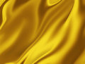Golden silk elegant background for your projects Stock Image