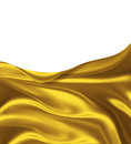 Golden silk elegant background for your projects Royalty Free Stock Image