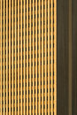 Golden skyscraper abstract view of a downtown in salt lake city utah Royalty Free Stock Image