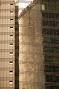 Golden Skyscraper Textures Royalty Free Stock Photography