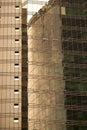 Golden Skyscraper Textures Royalty Free Stock Photo