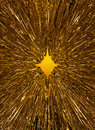 Golden starburst background Royalty Free Stock Photo