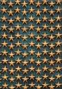 Golden stars Arkivfoto