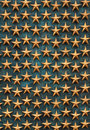 Golden Stars WWII Memorial Stock Photo