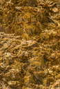 Golden Stones Textures Royalty Free Stock Photo