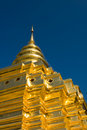Golden stupa Stock Photo