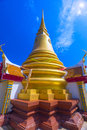 Golden stupa on Koh Samui island, Thailand Royalty Free Stock Photo