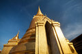 Golden Stupa in Thailand Royalty Free Stock Photo