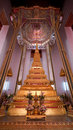 Golden stupa at Wat Mahathat in Bangkok, Thailand Royalty Free Stock Photo