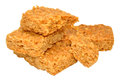 Golden Syrup Oat Flapjacks Royalty Free Stock Photo