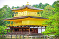 Golden tample temple in kyoto japan Royalty Free Stock Photography