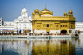 Golden Temple in Amritsar, India Stock Images
