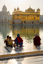 Golden Temple in Amritsar, Punjab, India. Royalty Free Stock Image