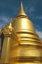 Golden Temple in Bangkok Stock Photos