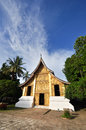 Golden temple the from laung prabang laos Stock Image