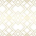 Golden texture. Seamless geometric pattern. Golden background. Royalty Free Stock Photo