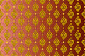 Golden Thai vintage pattern vector abstract background Royalty Free Stock Photo