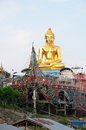 Golden Triangle Buddha Thailand Royalty Free Stock Photo