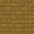 Golden weave seamless background vector illustration Royalty Free Stock Photos
